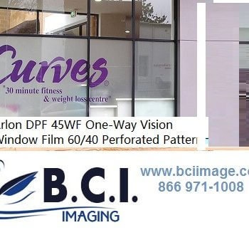 UV-Cure Glass And Window Surfaces Vinyl