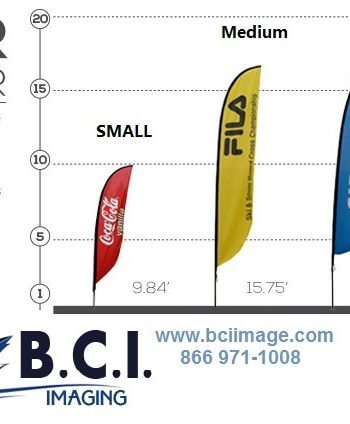 Feather Outdoor Banner Stand