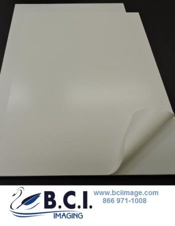 UV-Cure Removable Adhesive Vinyl