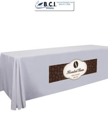 6 Feet Standard Table Throw (Full-Color Dye Sublimation, Front Only)