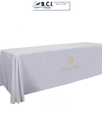6 Feet Economy Table Throw (Full-Color Imprint, One Location)