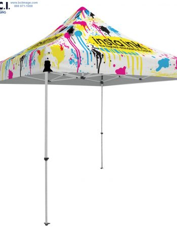 48-Hour Quick Ship Standard 10' Tent (Full-Bleed Dye Sublimation)
