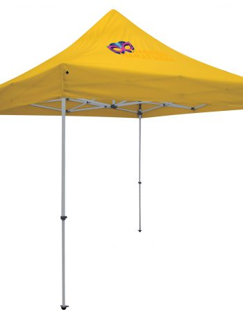 24-Hour Quick Ship Deluxe 10' Tent (Full-Color Imprint, One Location)