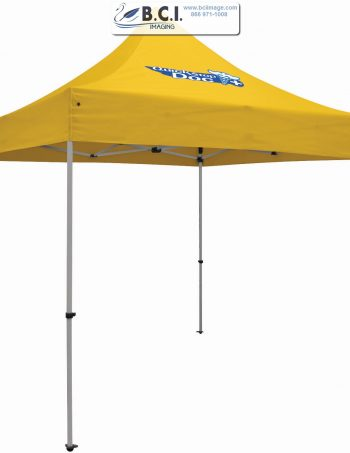 24-Hour Quick Ship Premium Aluminum 10' Tent (Full-Color Imprint, One Location)